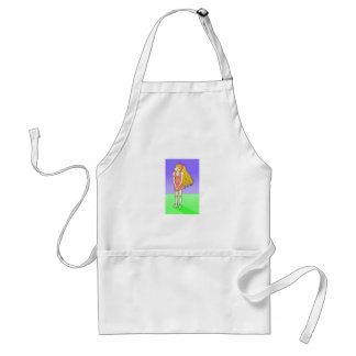Katie Anime Art Gallery Character Apron