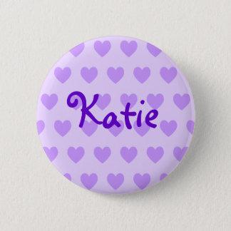 Katie in Purple 6 Cm Round Badge