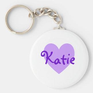 Katie in Purple Key Chain