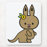Katie the Kangaroo Mouse Pad