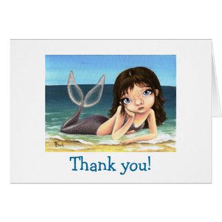 Katie the mermaid card