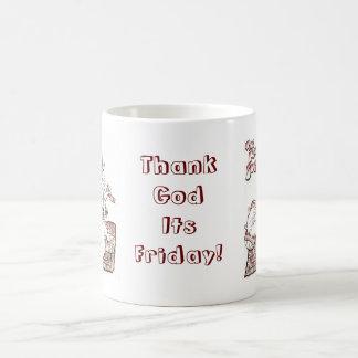Katma  Sutra Thank God Its Friday Mug