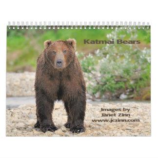 Katmai Bears Calendar