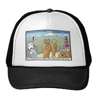 Katmandu Dogmandu Dog Vs Cat Funny Gifts & Tees Cap