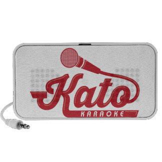 Kato Karaoke Logo iPhone Speaker