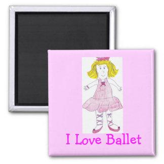 Katrina Ballerina, I Love Ballet Magnet