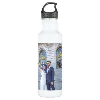 Katrina & Greg's Wedding Water Bottle 710 Ml Water Bottle