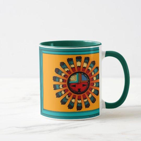 Katsina (Kachina) Sun Face Mug