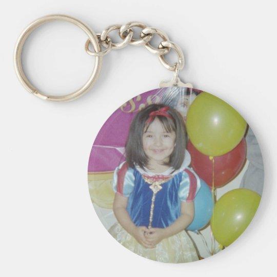 katsmil basic round button key ring