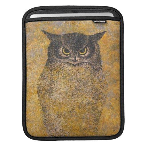 Katsuda Yukio Owl japanese oriental fine art iPad Sleeve
