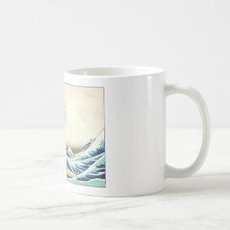 Katsushika Great Wave off Kanagawa Mug