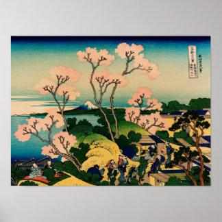 Katsushika Hokusai Poster