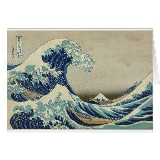 Katsushika Hokusai: The Great Wave at Kanagawa Card