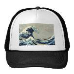 Katsushika Hokusai's Great Wave off Kanagawa Cap