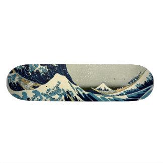 Katsushika Hokusai's Great Wave off Kanagawa Skate Boards