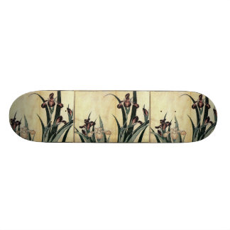 Katsushika Hokusai's Irises Skate Board