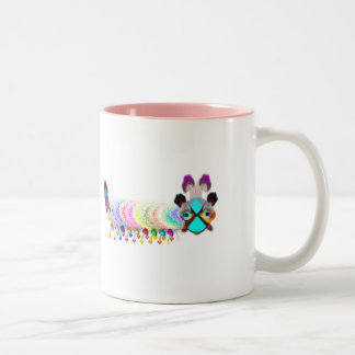Katter Pella Caterpillar Two-Tone Coffee Mug
