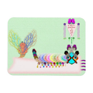 Katter Pella Caterpillar Vinyl Flexi Magnet Rectangular Magnet