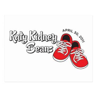 Katy Kidney Beans Postcard