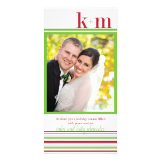Katy Xmas Card Photo Card Template