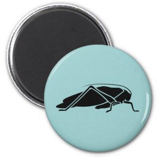 Katydid 6 Cm Round Magnet
