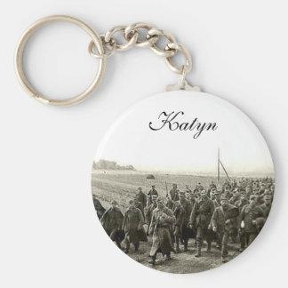 Katyn Key Ring