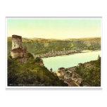 Katz Castle, Goarshausen (i.e., Sankt Goarshausen) Postcards