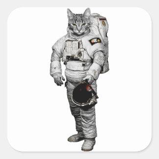 Katze Astronaut Sticker