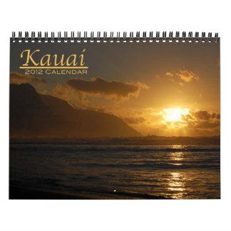 Kauai 2012 calendars