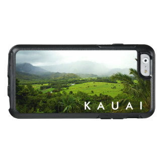 Kauai, Hawaii Landscape Scene w/ Text OtterBox iPhone 6/6s Case