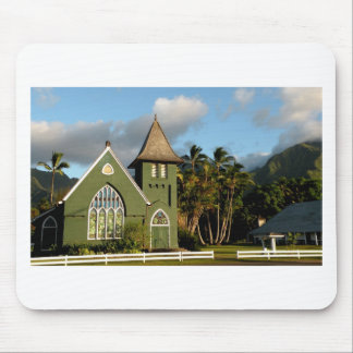 Kauai Hawaii North Shore Chapel Mouse Mat