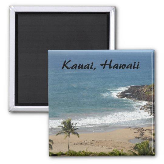 Kauai, Hawaii Square Magnet