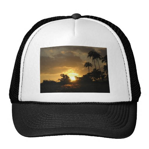Kauai, Hawaii Sunset Cap