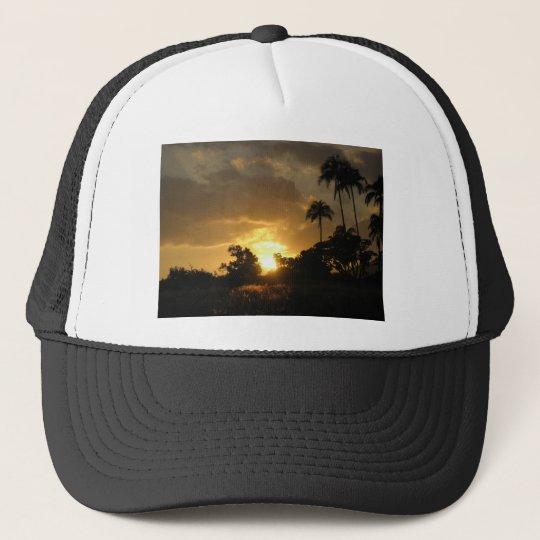 Kauai, Hawaii Sunset Trucker Hat