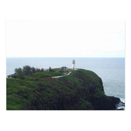 Kauai Lighthouse Postcard