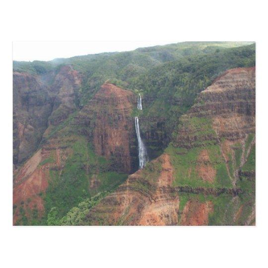 Kauai Mountain Waterfall Postcard