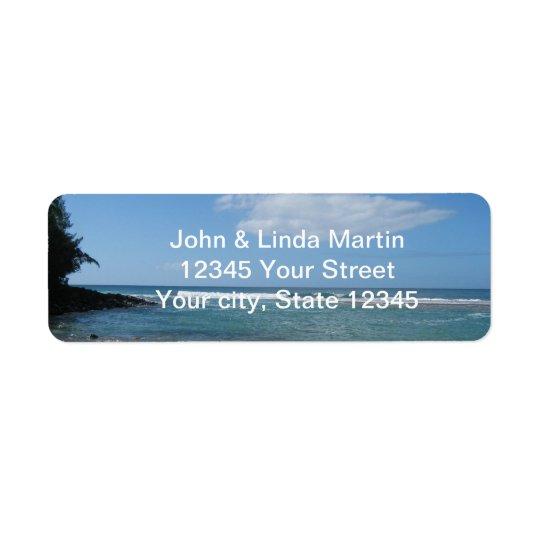 Kauai Return Address Label
