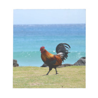Kauai rooster notepad