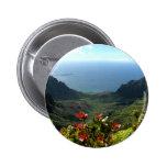 Kauai's Na Pali Coast Pinback Buttons