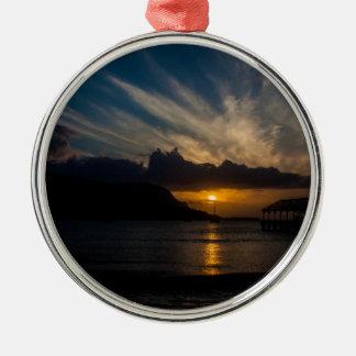 Kauai Sunset Christmas Ornament