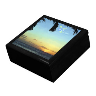 Kauai Sunset Large Square Gift Box