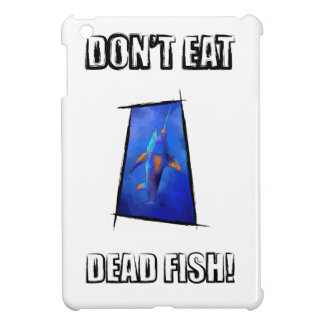 Kauderon V1 - Beautiful Swordfish with text iPad Mini Cover