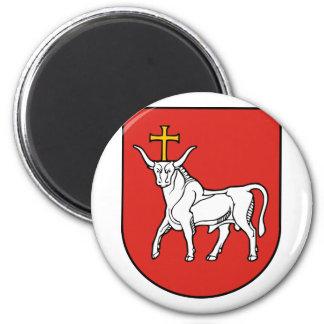 Kaunas city, Lithuania Magnet