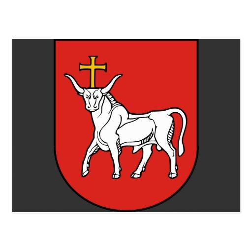 Kaunas city, Lithuania Post Card