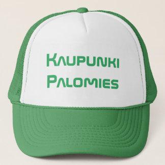 kaupunki palomies -City Firefighter in Finnish Trucker Hat