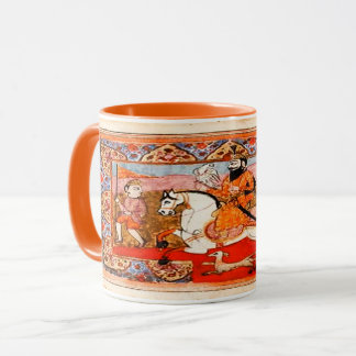 Kaur - Sikh Historical Art #4 - orange Mug