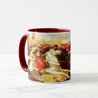 Kaur - Sikh Historical Art #5 - maroon Mug