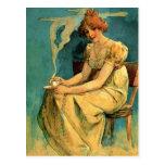 Kava By Alphonse (Alfons) Mucha ~ Art Nouveau Post Cards