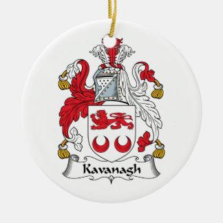 Kavanagh Family Crest Christmas Ornament