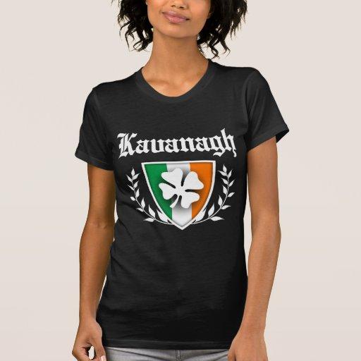 Kavanagh Shamrock Crest Tee Shirts